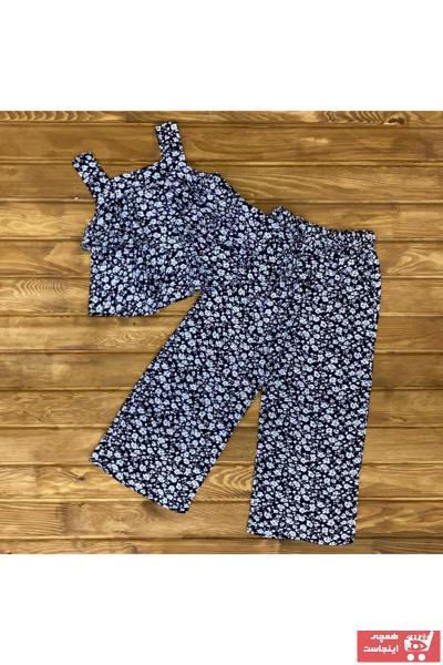 ست لباس دخترانه ارزان قیمت برند JET KİDS رنگ مشکی کد ty90393543