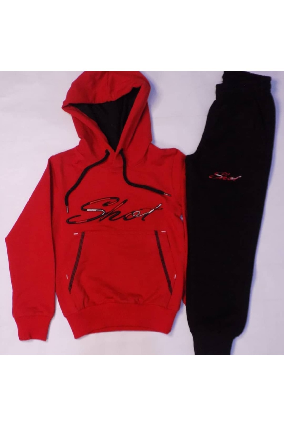 سویشرت خاص بچه گانه برند shot sport رنگ قرمز ty91043193