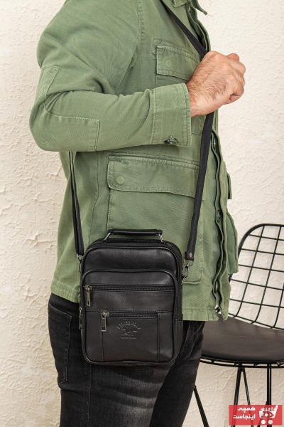 کیف دستی اورجینال برند Newish Polo رنگ مشکی کد ty91123499