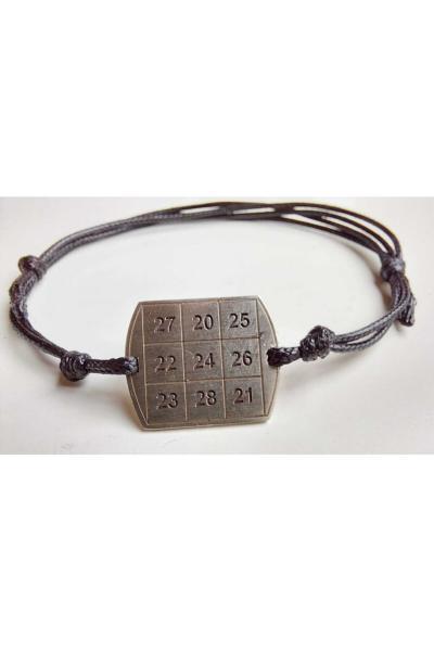 دستبند مردانه ارزان برند Numberrings رنگ نقره کد ty91645388
