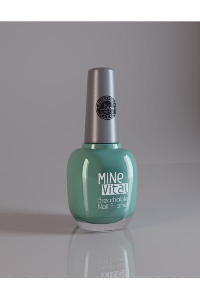 خرید ارزان لاک ناخن جدید برند Minevital رنگ سبز کد ty92773730