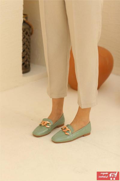 کفش تخت زمستانی دخترانه برند Cömert Ayakkabı رنگ سبز کد ty93054733