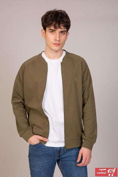 ژاکت مردانه ارزان برند Bediss رنگ خاکی کد ty94165095