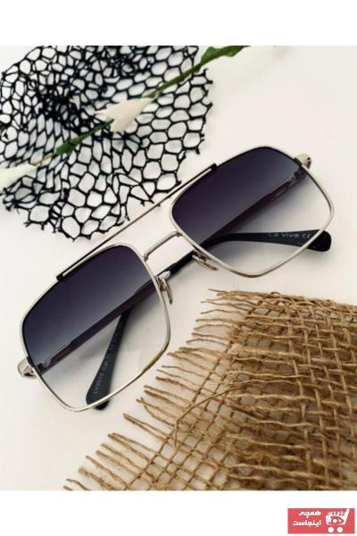 خرید عینک آفتابی یونیسکس ترک جدید برند La Viva رنگ نقره ای کد ty94850580