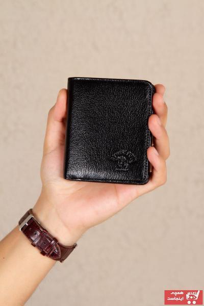 فروش کیف پول جدید برند Leyl رنگ مشکی کد ty95774708