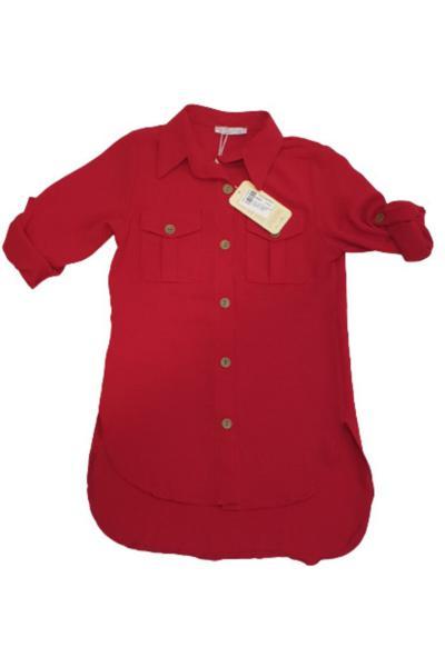 خرید اینترنتی تونیک تونیک دخترانه برند Uğurböceği رنگ قرمز ty97466772