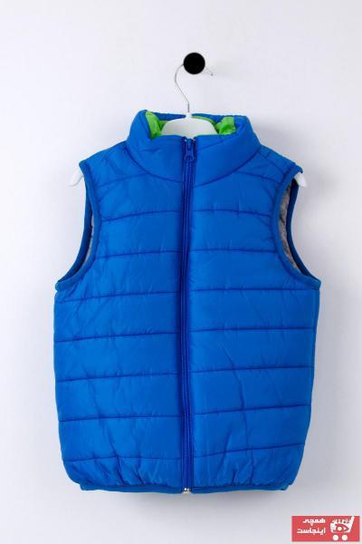 جلیقه بهاری دخترانه برند Pina Kids رنگ آبی کد ty98501143