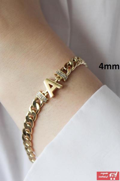 دستبند طلا زنانه ترک برند TUNCAY GOLD رنگ زرد ty99390706