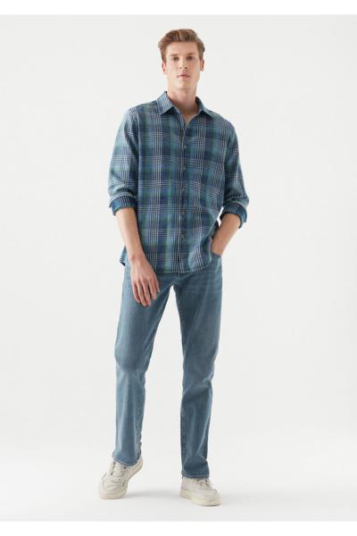 خرید پستی شلوار جین زیبا برند ماوی رنگ آبی کد ty99418569
