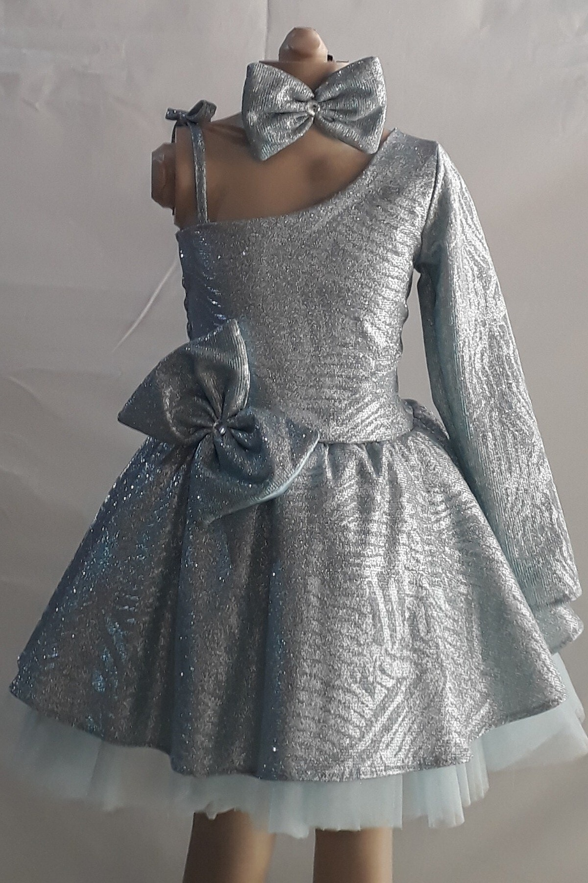 خرید انلاین لباس مجلسی زیبا دخترانه Şahinkostum رنگ سبز کد ty100433924
