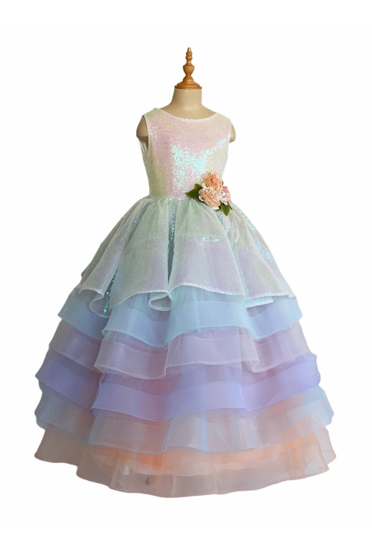 فروش لباس مجلسی دخترانه برند zühre balaban کد ty103588197
