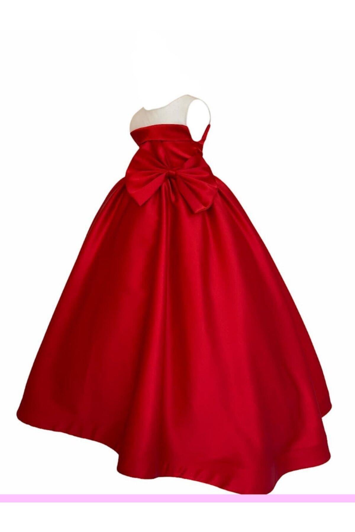 خرید انلاین لباس مجلسی زیبا دخترانه برند zühre balaban رنگ قرمز ty103646196