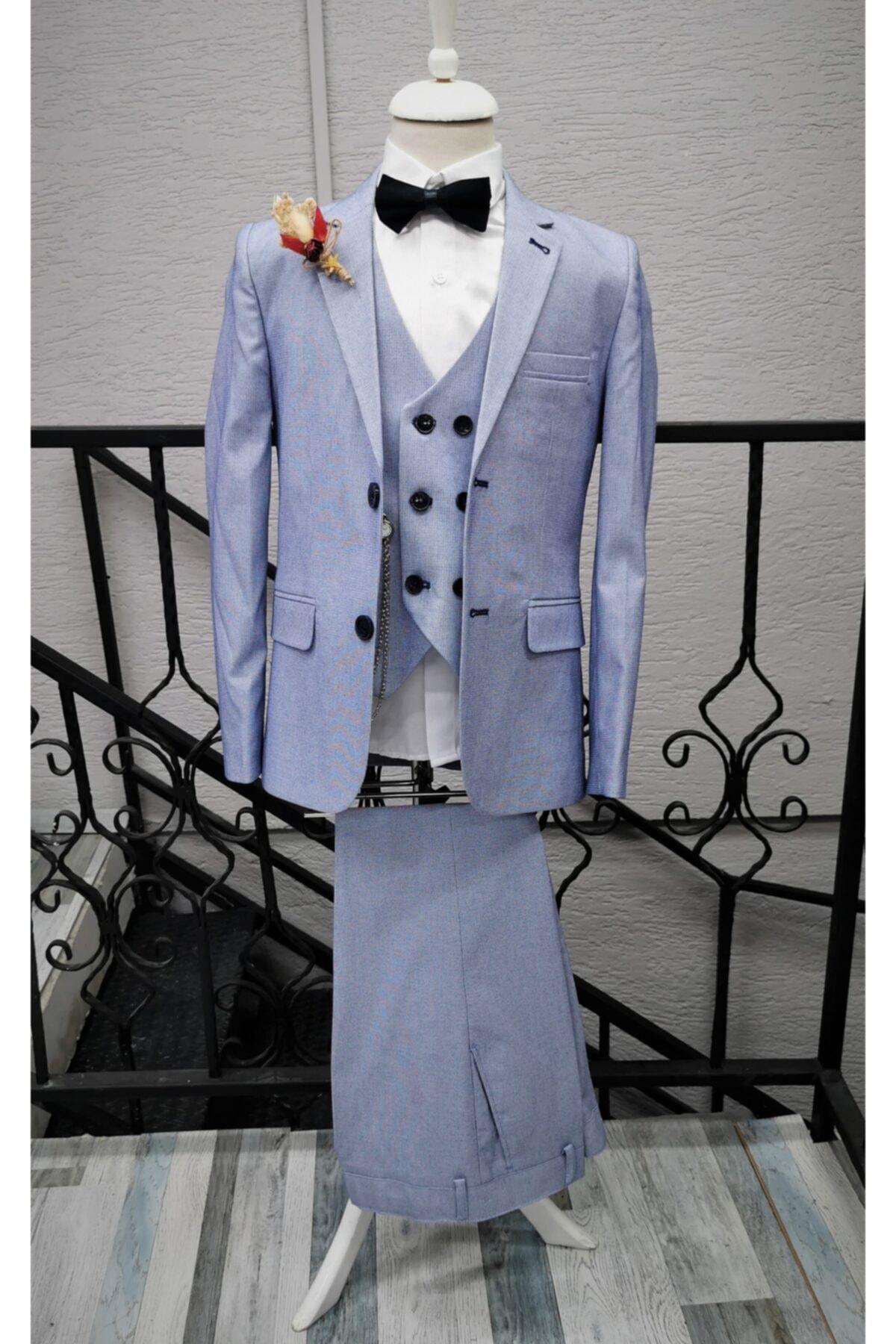 لباس مجلسی بچه گانه اسپرت جدید برند ESKİŞEHİR YUMURCAK رنگ آبی کد ty105119791