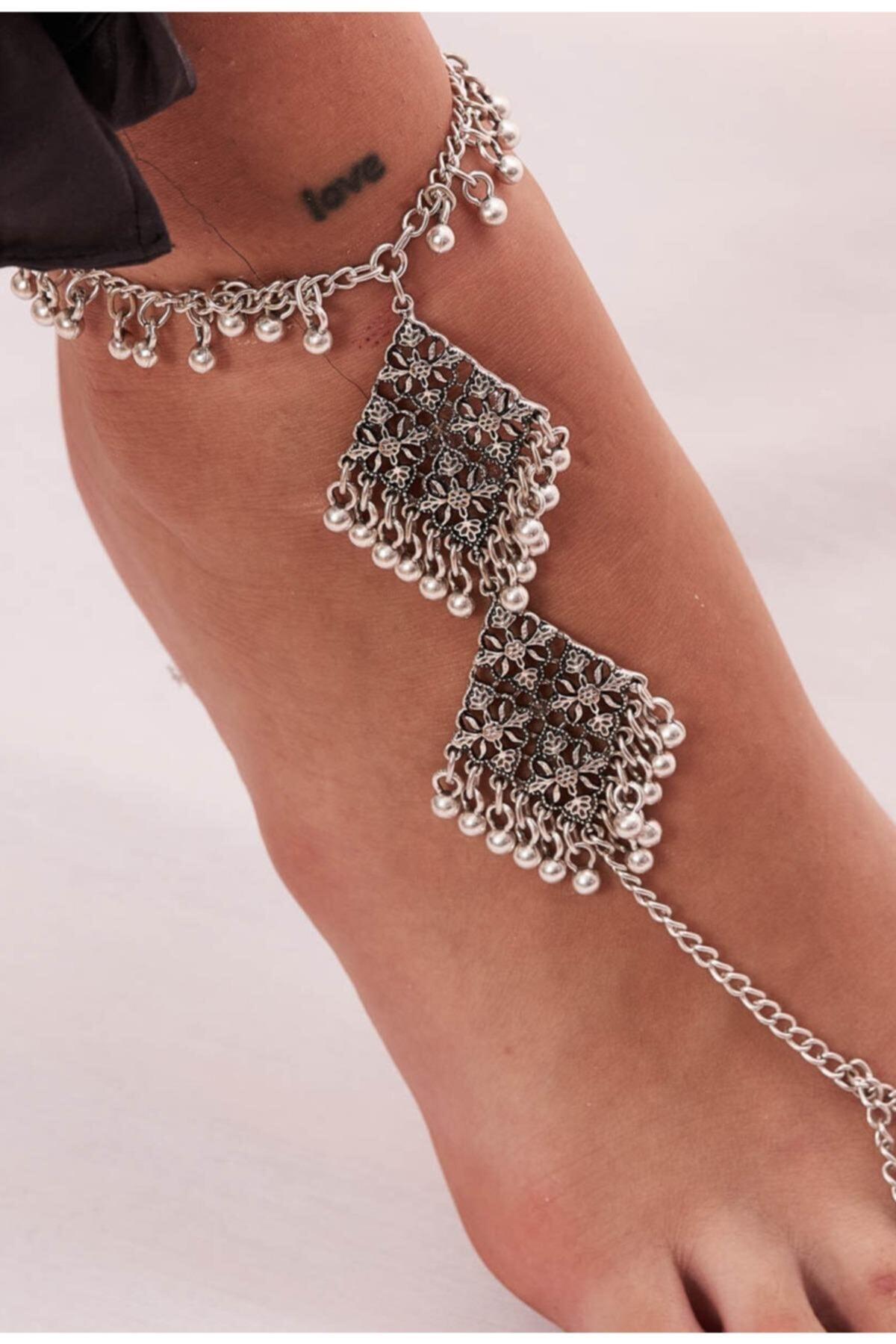 خرید دستبند انگشتی زنانه شیک برند ZeyDor Accessories رنگ نقره ای کد ty105212780