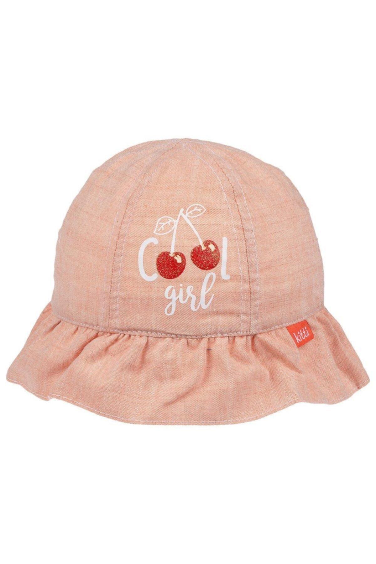 حرید اینترنتی کلاه نوزاد دختر ارزان برند POKY BEBE رنگ صورتی ty105710910