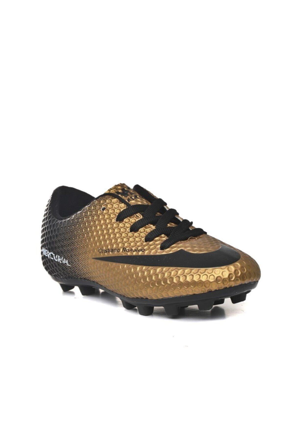 کفش کتونی مردانه مارک دار برند Walked رنگ طلایی ty107337184
