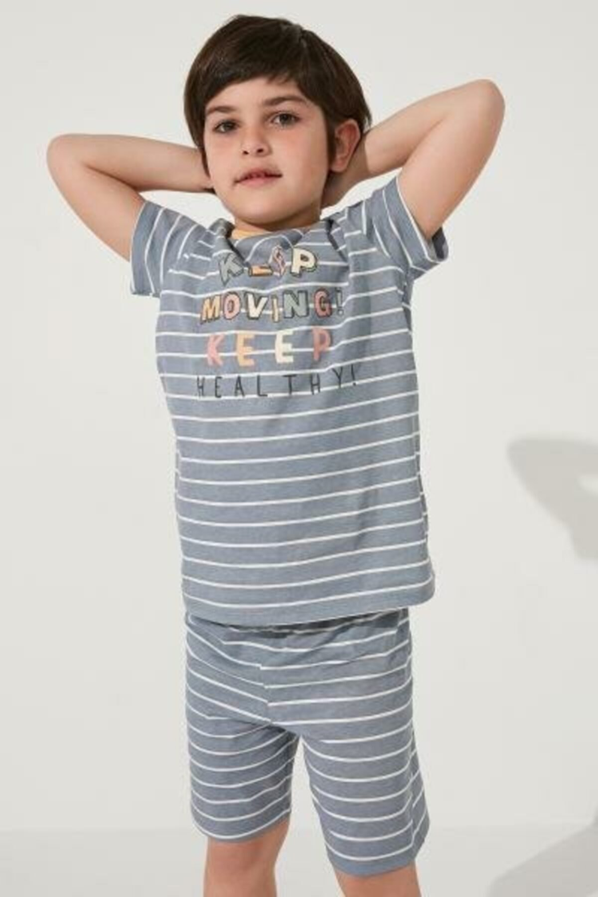 فروش ست راحتی دخترانه حراجی برند Penti رنگ آبی کد ty109077194