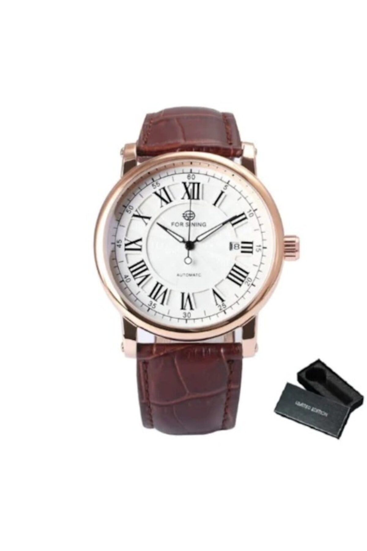 خرید ساعت مردانه  برند Forsining رنگ متالیک کد ty109765649