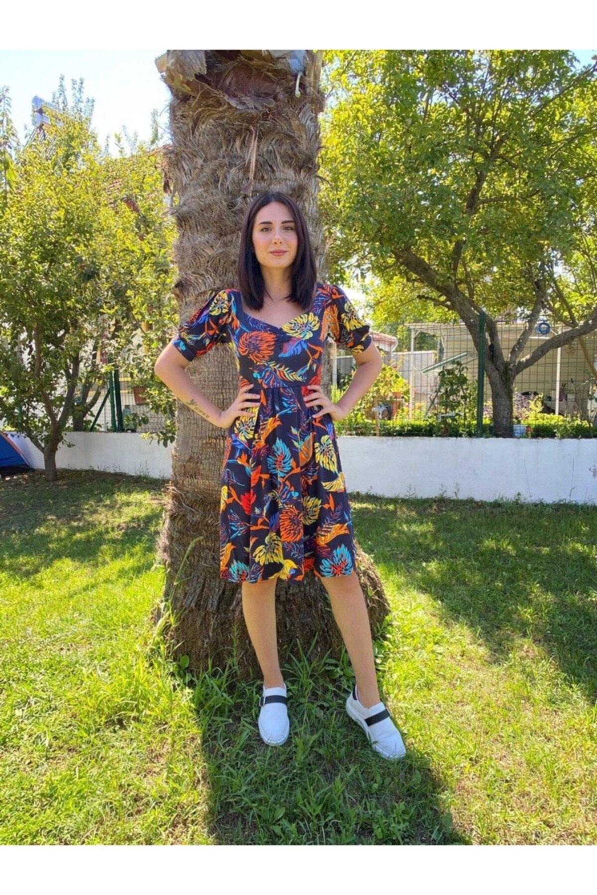 پیراهن زنانه فانتزی برند KARANLIKBUTİK رنگ آبی کد ty111211268