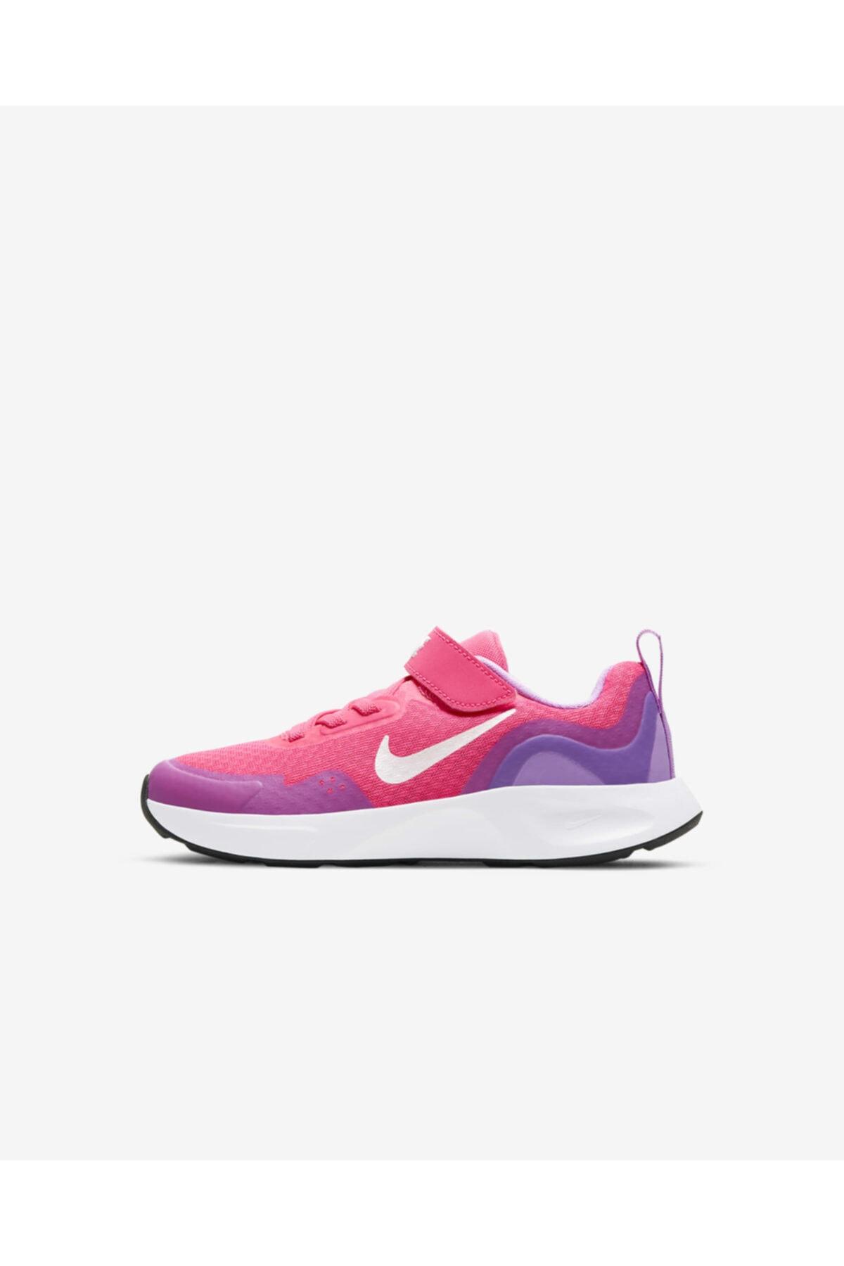 کفش اسپرت 2021 بچه گانه دخترانه برند نایک رنگ صورتی ty113898157