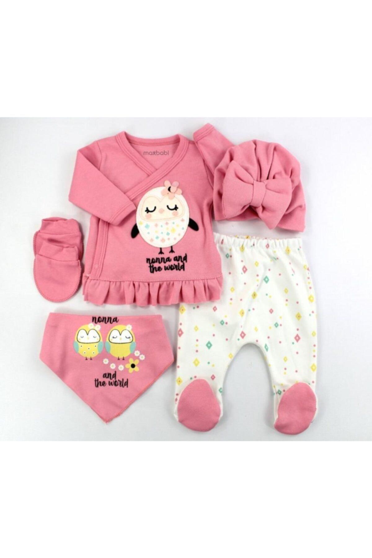 خرید اسان ست لباس نوزاد اسپرت جدید برند VERONA TARZ رنگ صورتی ty117028618