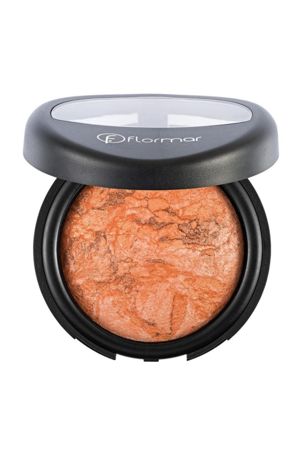 خرید نقدی رژ گونه جدید برند Flormar رنگ نارنجی کد ty1265009