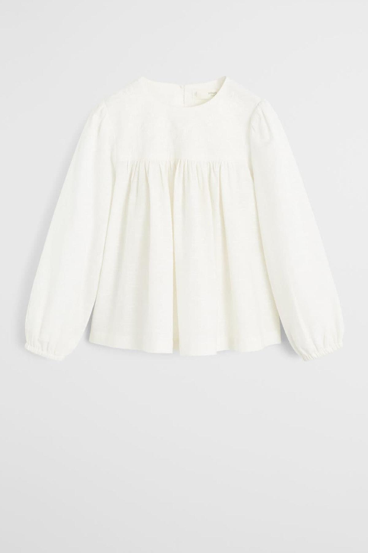 فروش شومیز نوزاد دخترانه شیک و جدید برند منگو کد ty31614710