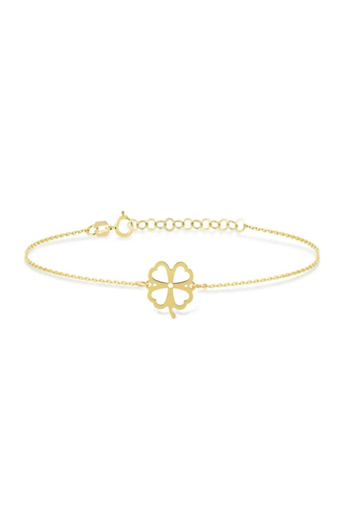خرید انلاین دستبند طلا زنانه فانتزی برند Gelin Pırlanta رنگ طلایی ty38461052
