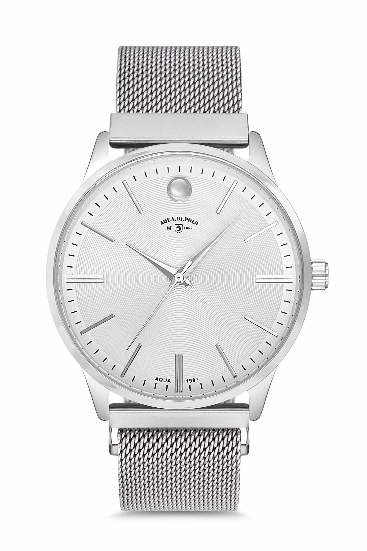 خرید پستی ساعت مچی زنانه ارزان برند Aqua Di Polo 1987 رنگ نقره کد ty40648992