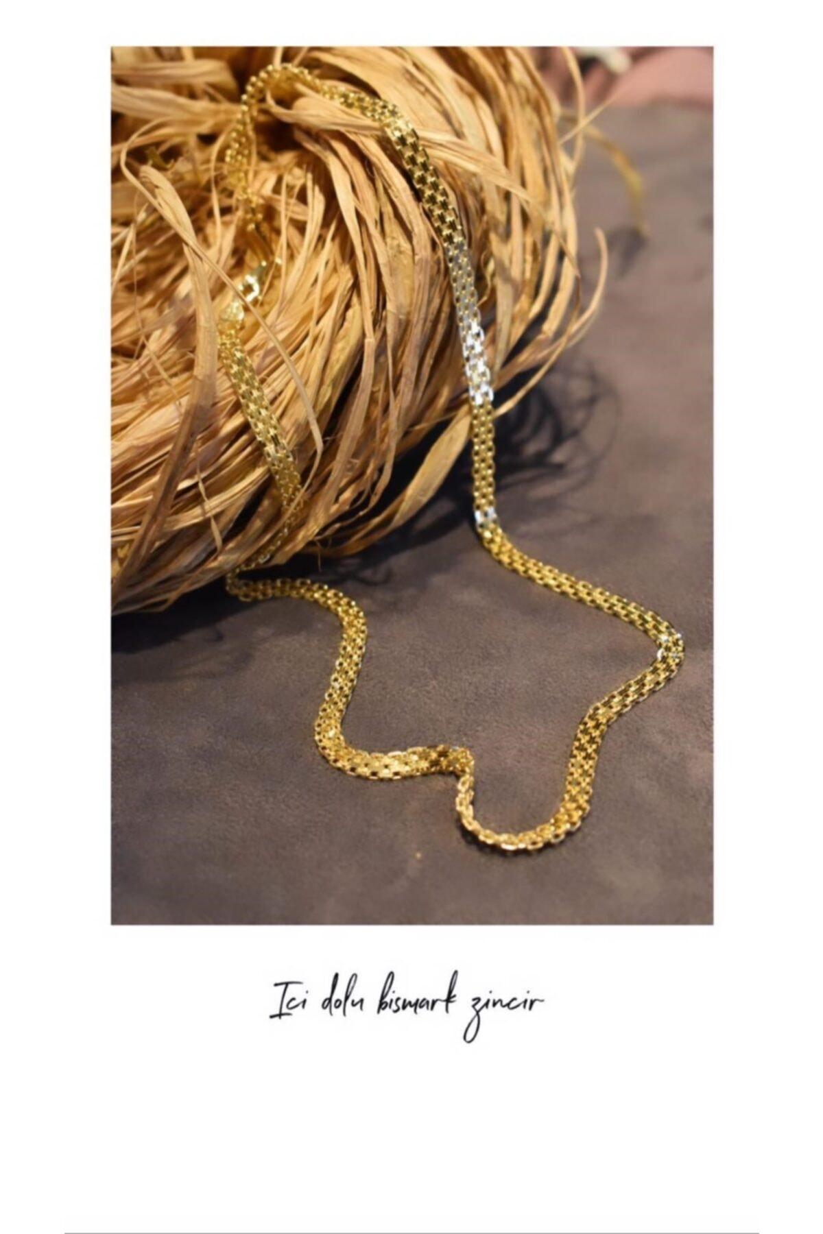 گردنبند طلا زنانه ارزان قیمت برند Aydın Gold رنگ زرد ty41020568