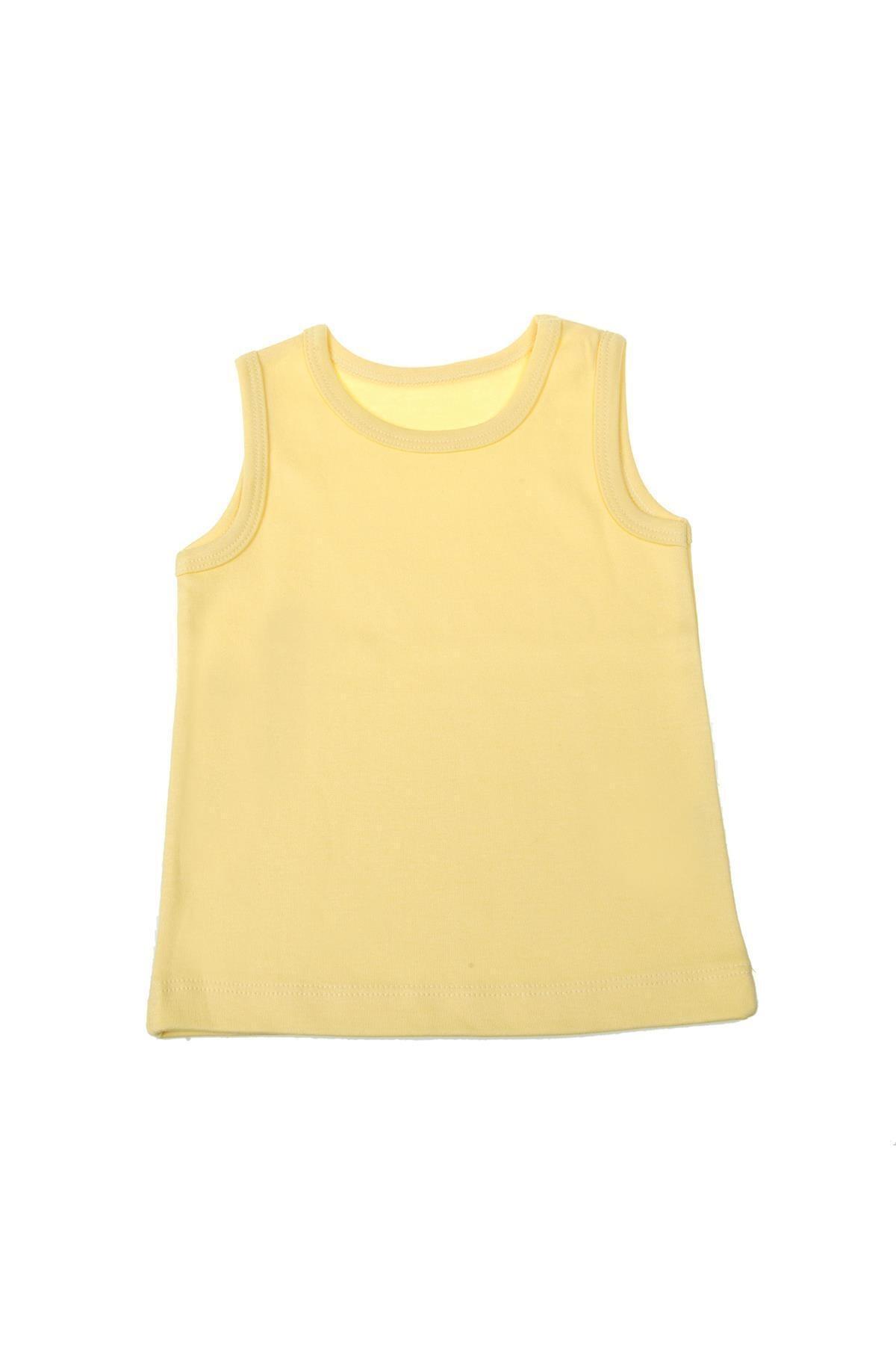 تاپ بچه گانه پسرانه نگیندار برند Mini Ropa رنگ زرد ty46672975