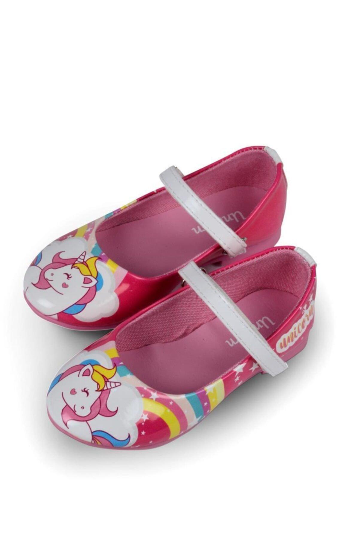خرید اینترنتی کفش تخت  برند UNICORN رنگ صورتی ty48593428
