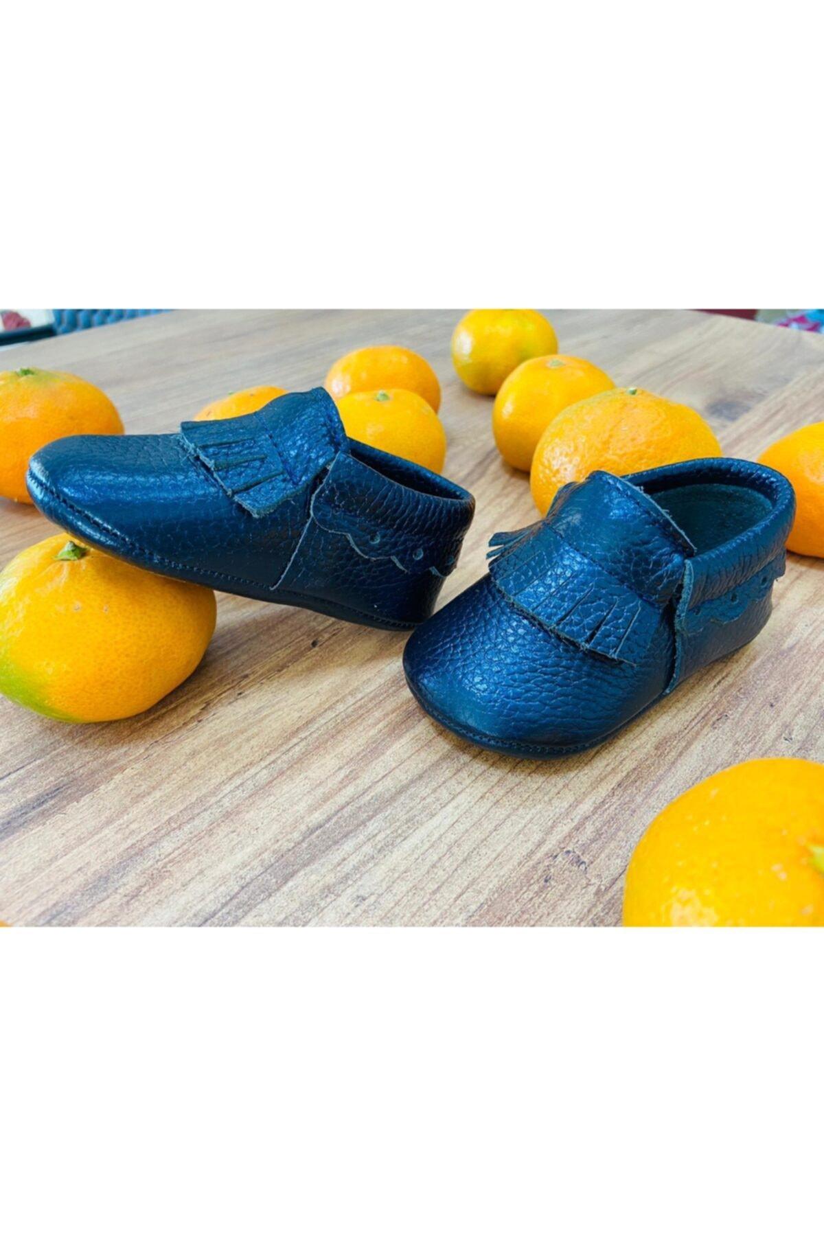 کفش تخت نوزاد پسرانه اصل برند Blacktavern رنگ لاجوردی کد ty59273314