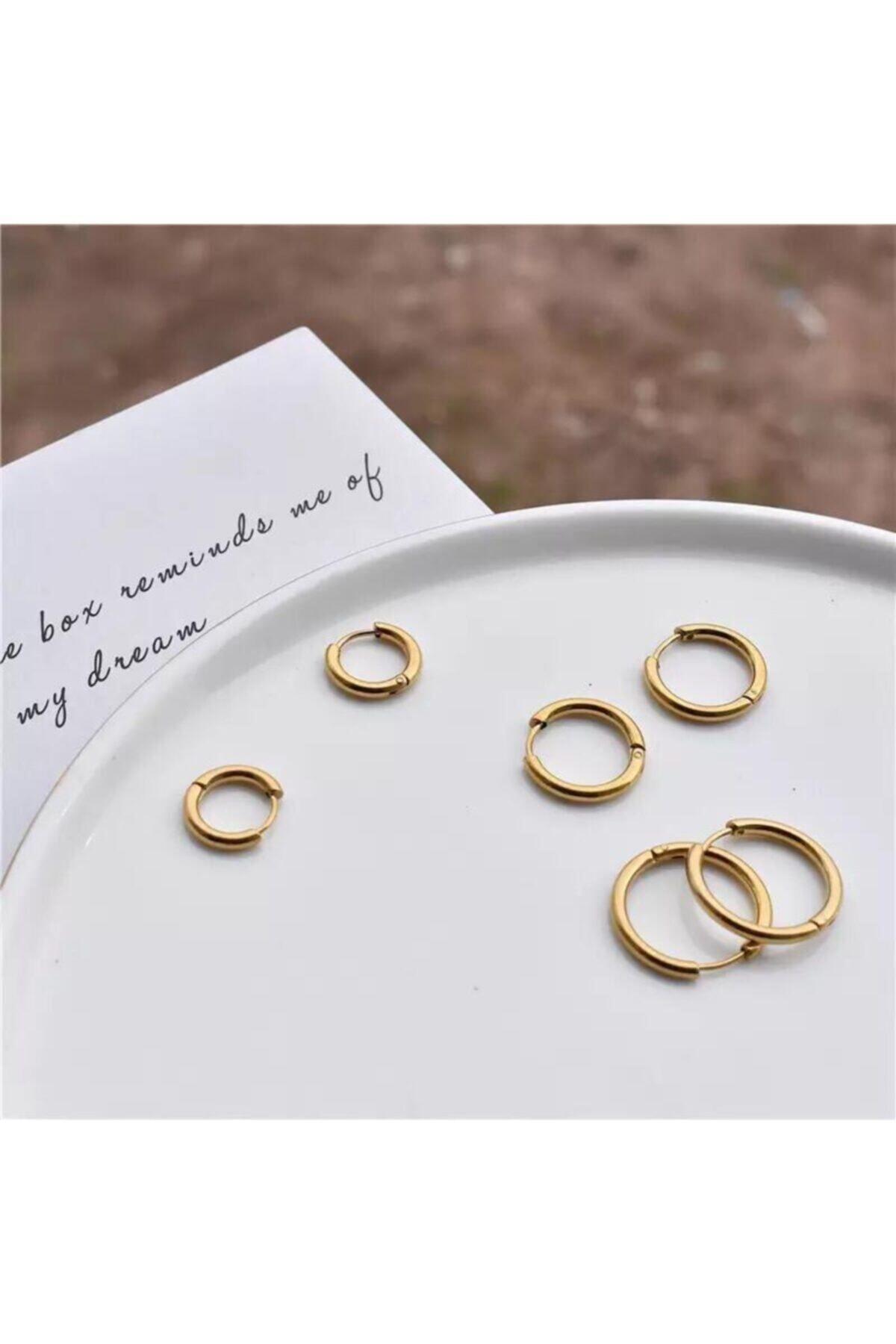 خرید پستی گوشواره زنانه پارچه ارزانی برند Jaida Moda رنگ طلایی ty70905375