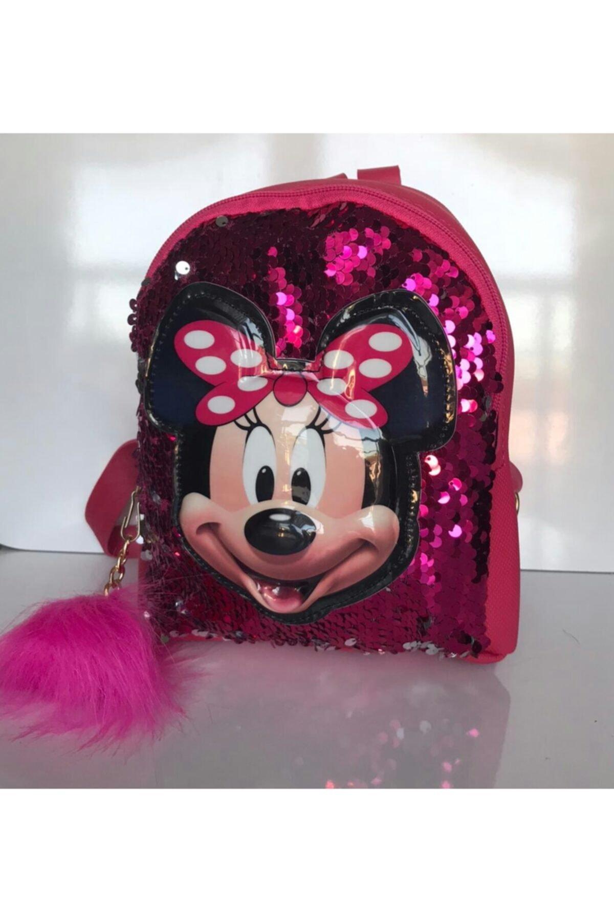 کوله پشتی ارزانی برند Minnie Mouse رنگ صورتی ty78220259