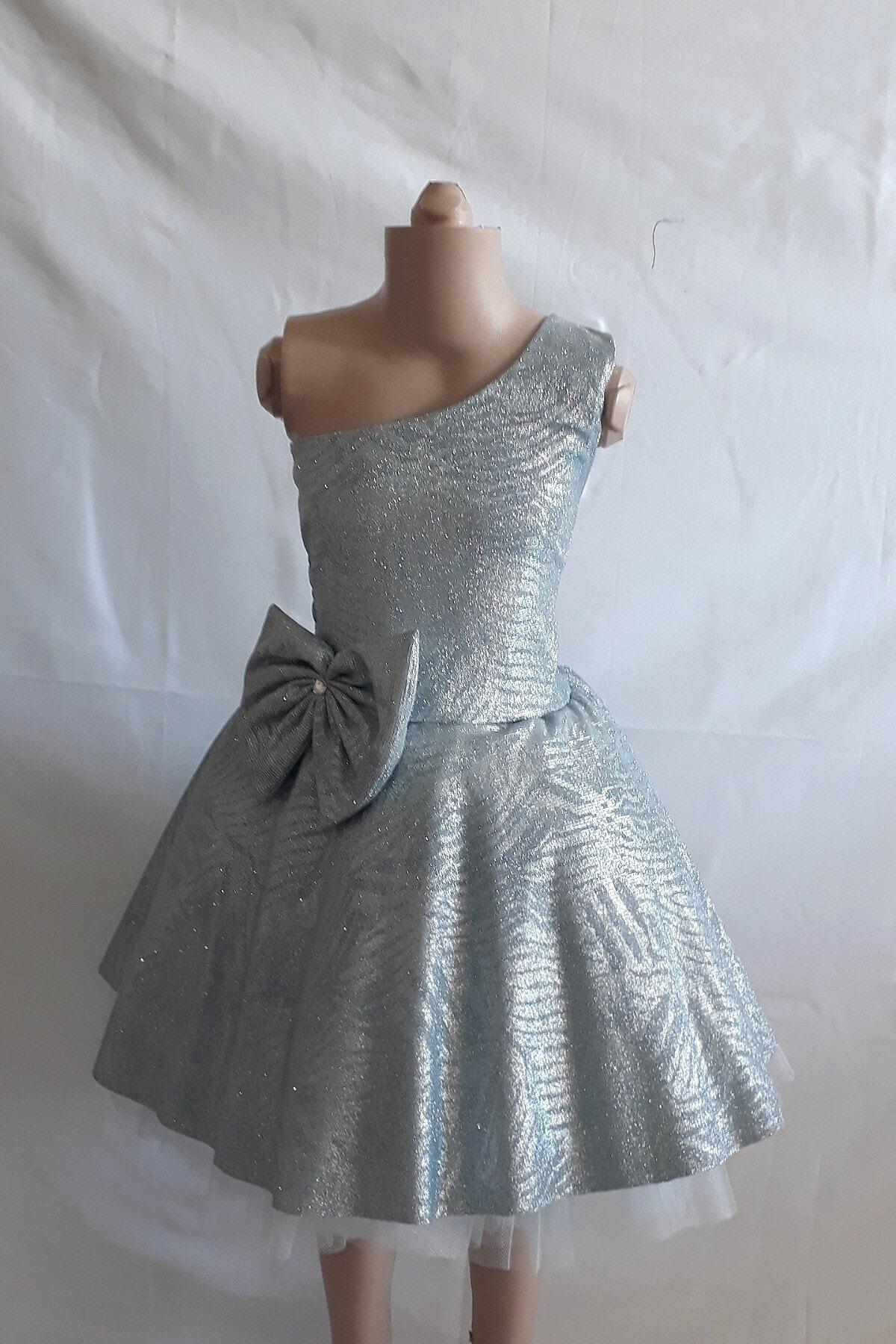 خرید اینترنتی لباس مجلسی دخترانه فانتزی Şahinkostum رنگ سبز کد ty83003440