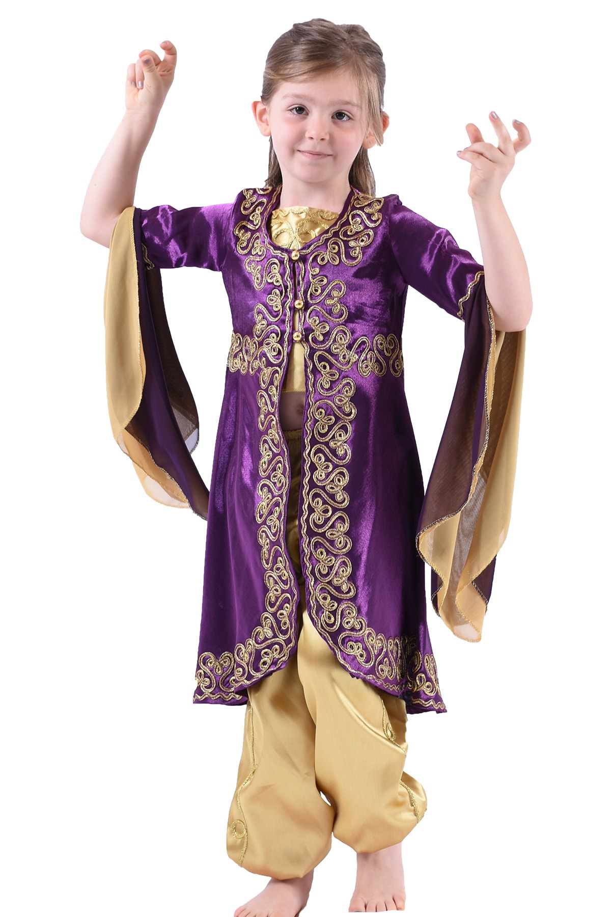 خرید لباس مجلسی 2021 دخترانه برند ceocuk رنگ بنفش کد ty88753961