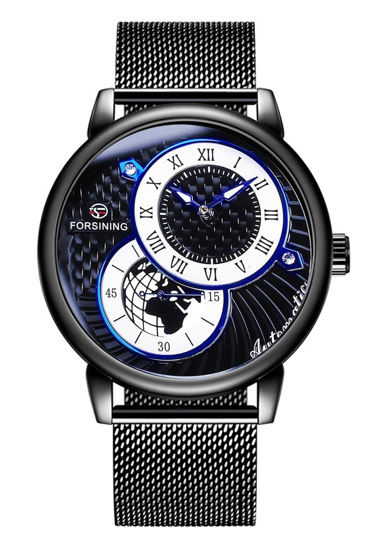 خرید ساعت مچی مردانه برند Forsining رنگ مشکی کد ty89423934