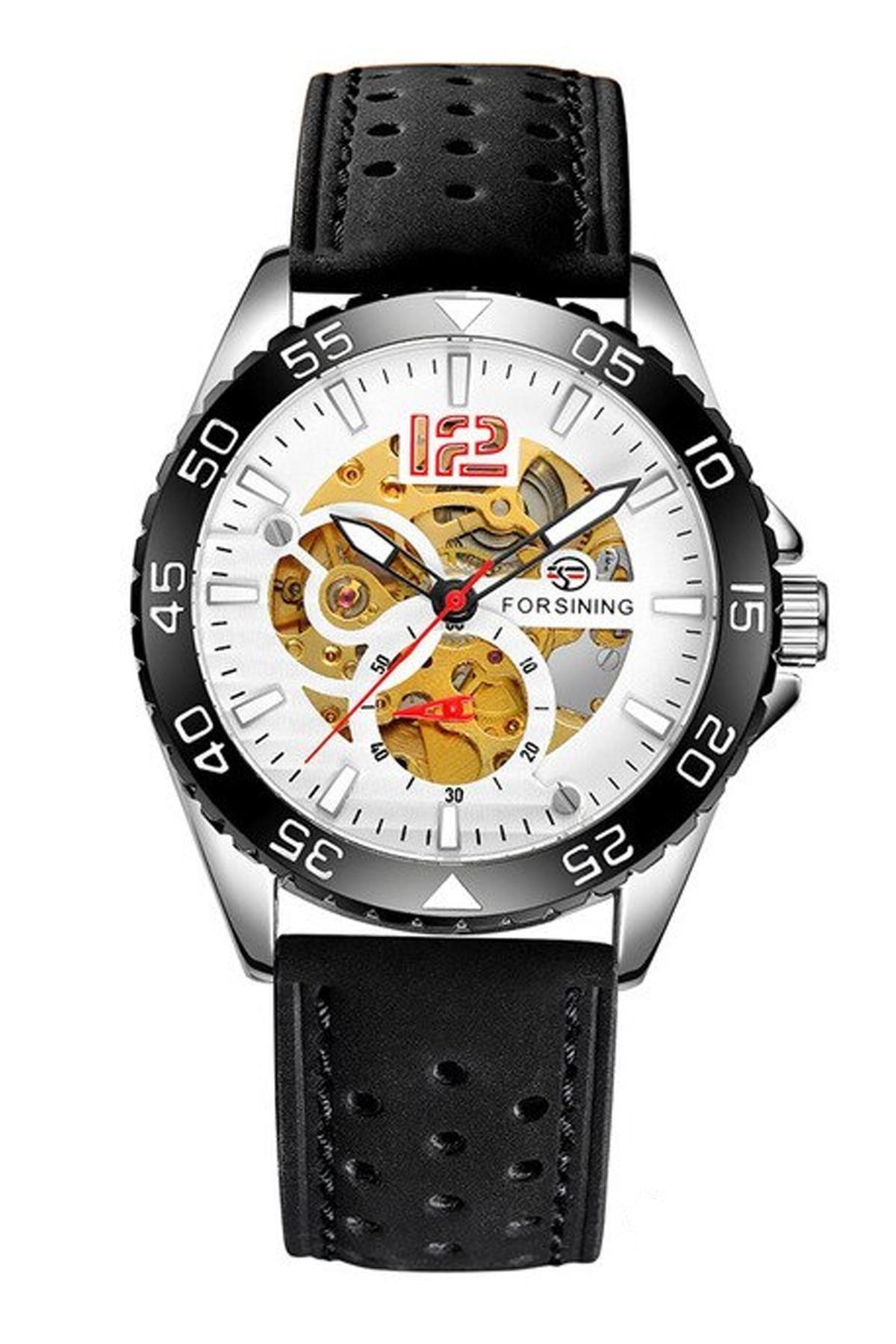 خرید ساعت شیک مردانهاصل برند Forsining رنگ مشکی کد ty89463540