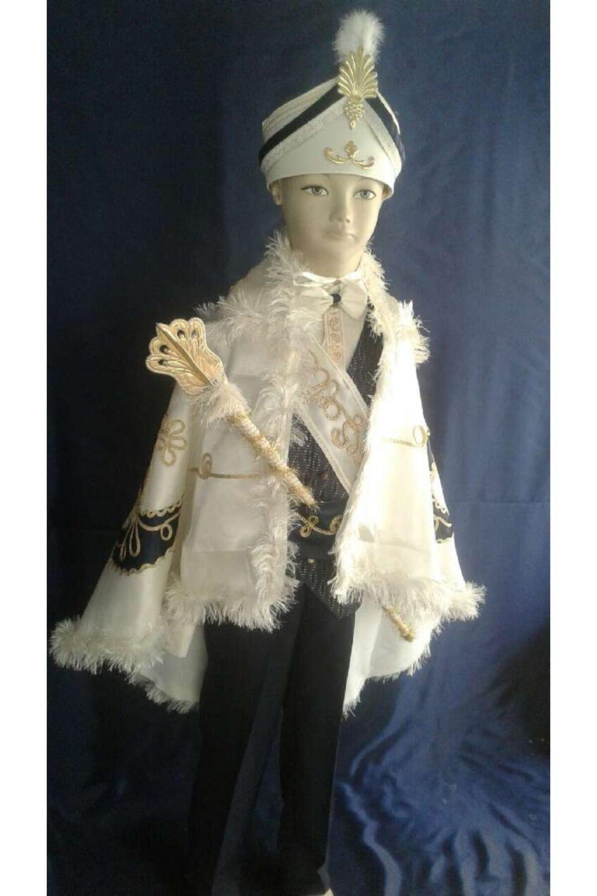 لباس خاص پسرانه شیک مجلسی برند yuşa sünnet sarayı رنگ لاجوردی کد ty92988853