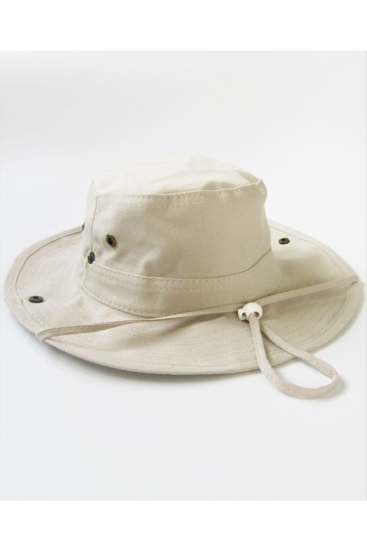 کلاه مردانه ارزان برند salarticaret رنگ بژ کد ty96456540