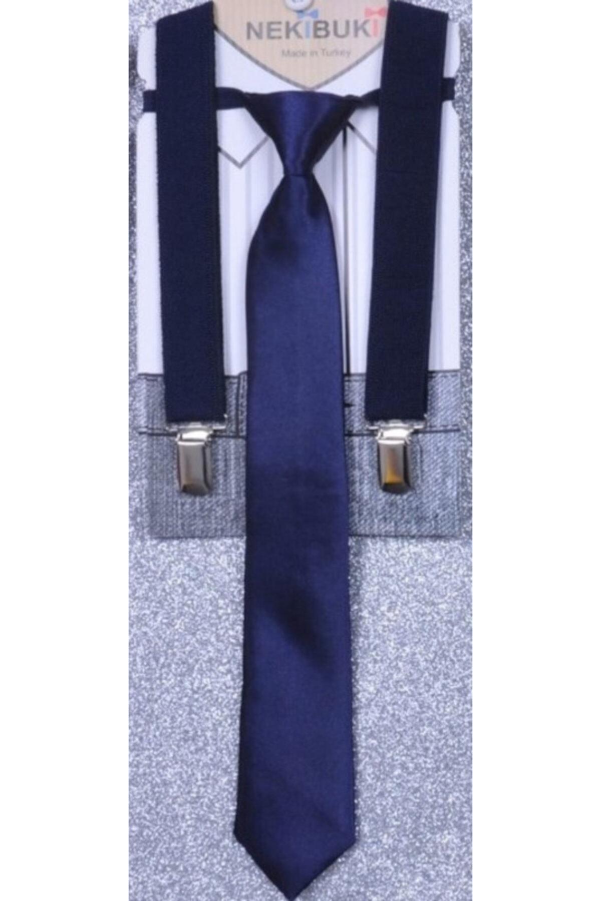 خرید کراوات ارزانی برند NEKİBUKİ رنگ لاجوردی کد ty96989481