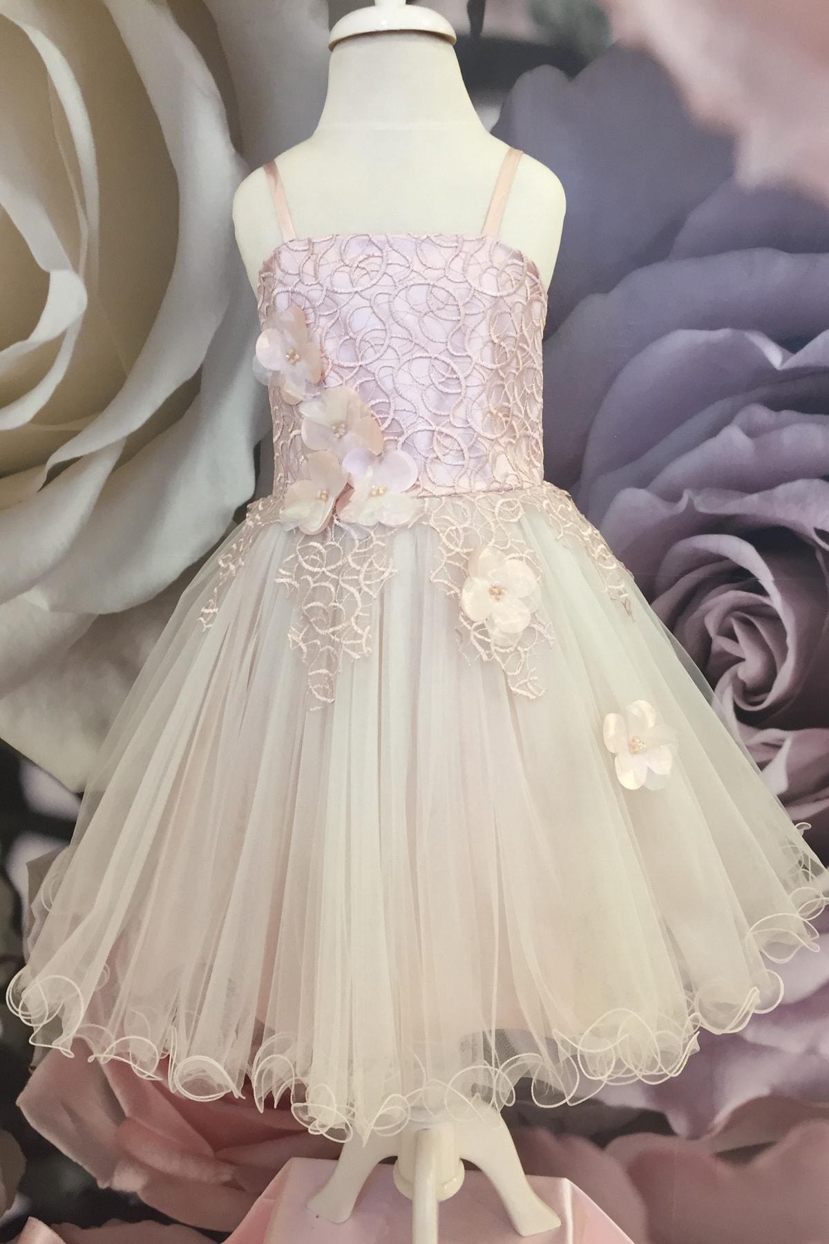 خرید اینترنتی لباس مجلسی خاص دخترانه برند Dide Kids رنگ صورتی ty99546541