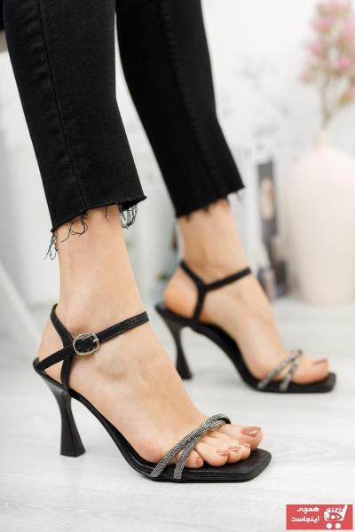 فروش کفش پاشنه بلند مجلسی زنانه شیک و جدید برند DAYS Ayakkabı رنگ مشکی کد ty100033328
