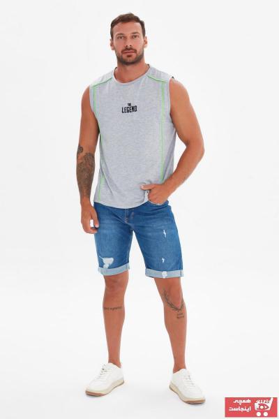 زیرپوش مردانه ست برند ترندیول مرد رنگ نقره ای کد ty101295569
