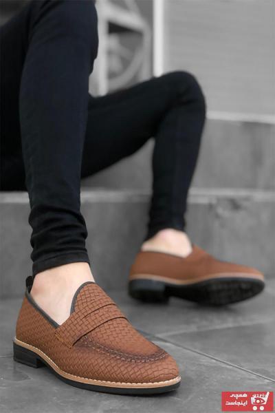 کفش کلاسیک مردانه ترک برند Mida Shoes رنگ قهوه ای کد ty101354724