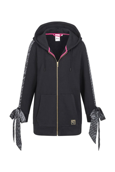 خرید انلاین گرمکن ورزشی زنانه طرح دار برند Puma رنگ مشکی کد ty101903687