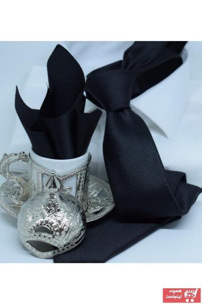خرید کراوات خفن برند Blazzotti رنگ مشکی کد ty102394272
