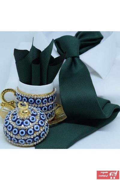 کراوات 2020 مدل جدید برند Blazzotti رنگ سبز کد ty102396446