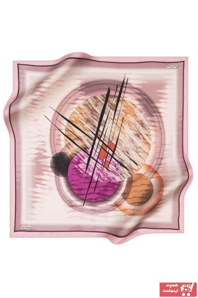 سفارش روسری زنانه ارزان برند پیرکاردن رنگ صورتی ty102636108